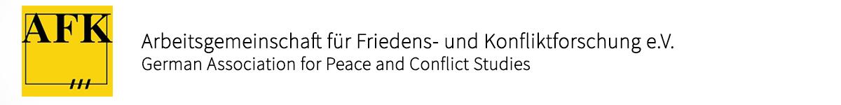 Arbeitsgemeinschaft für Friedens- und Konfliktforschung e.V.